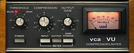 VXC VU DBX 160 UAD plugin